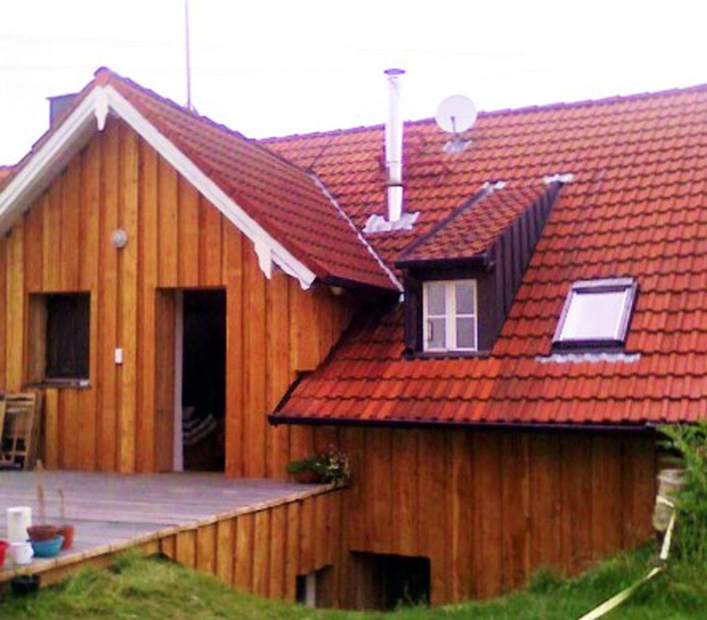 Holzfassaden und Wärmedämmung